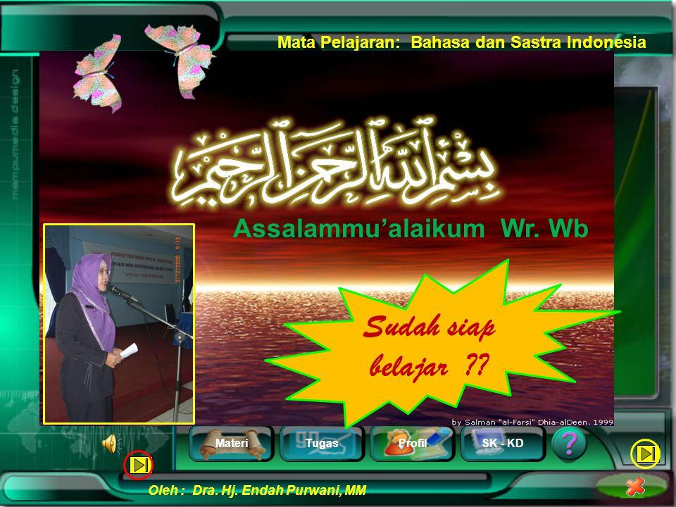 Assalammu'alaikum Wr. Wb