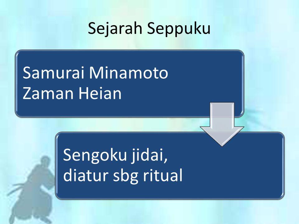 Sejarah Seppuku Samurai Minamoto Zaman Heian