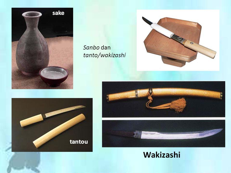 sake Sanbo dan tanto/wakizashi tantou Wakizashi