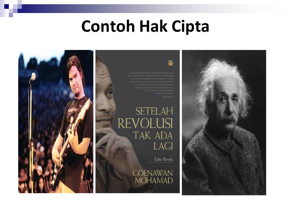 Contoh Hak Cipta