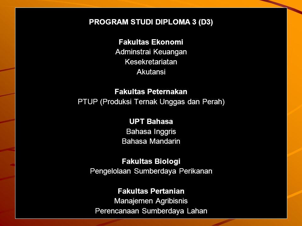PROGRAM STUDI DIPLOMA 3 (D3)