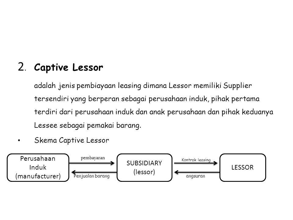 2. Captive Lessor
