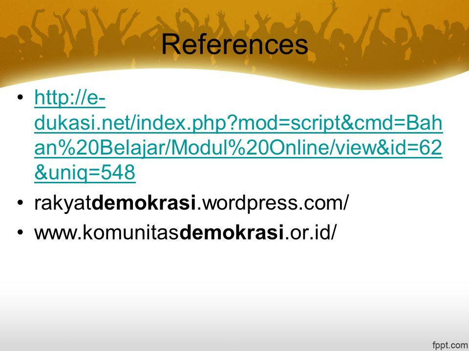 References http://e-dukasi.net/index.php mod=script&cmd=Bahan%20Belajar/Modul%20Online/view&id=62&uniq=548.