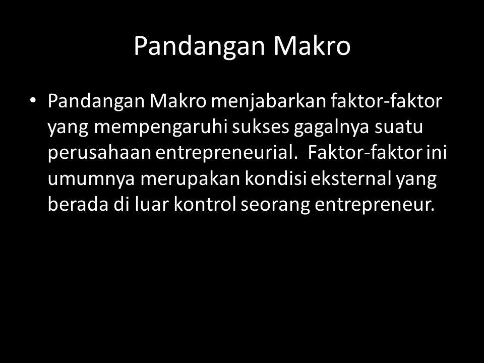 Pandangan Makro