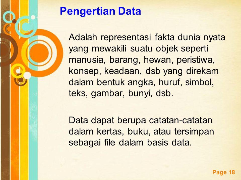 Pengertian Data