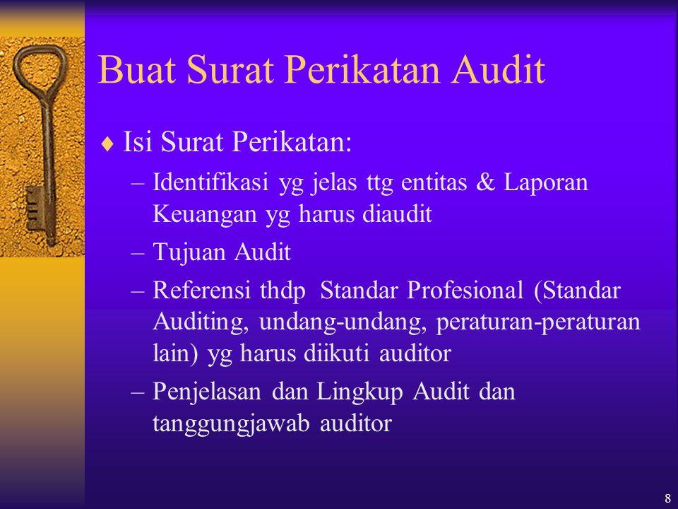 Buat Surat Perikatan Audit
