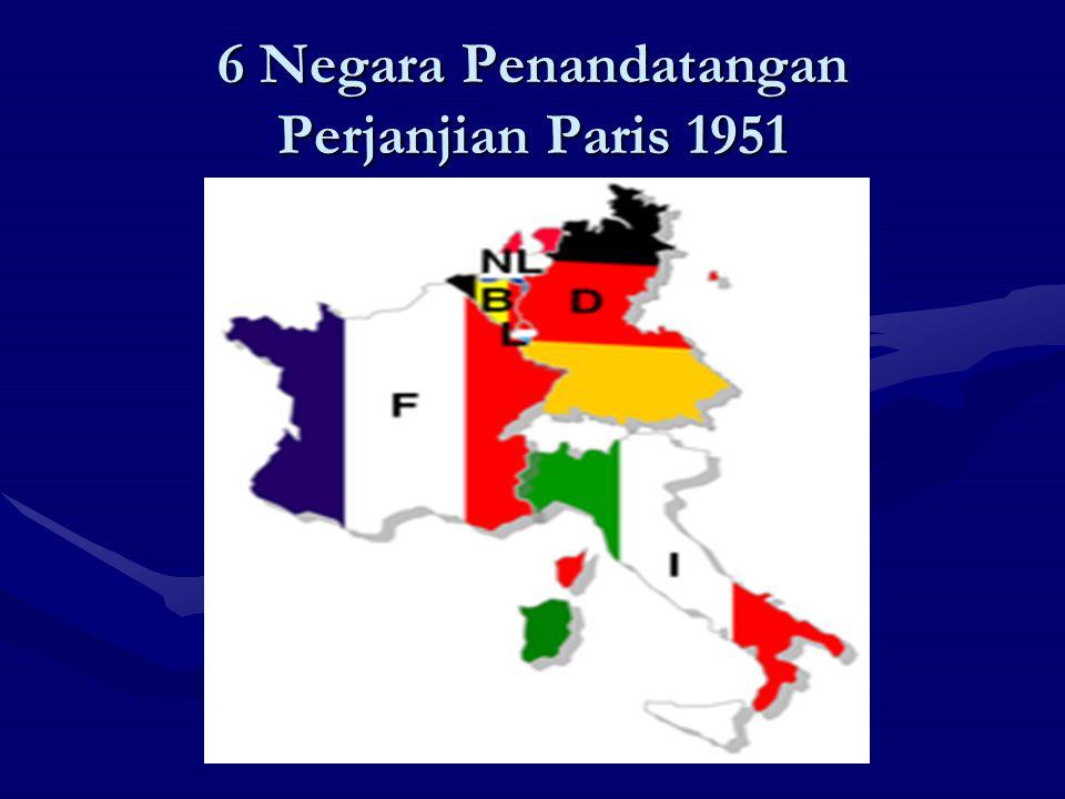 6 Negara Penandatangan Perjanjian Paris 1951