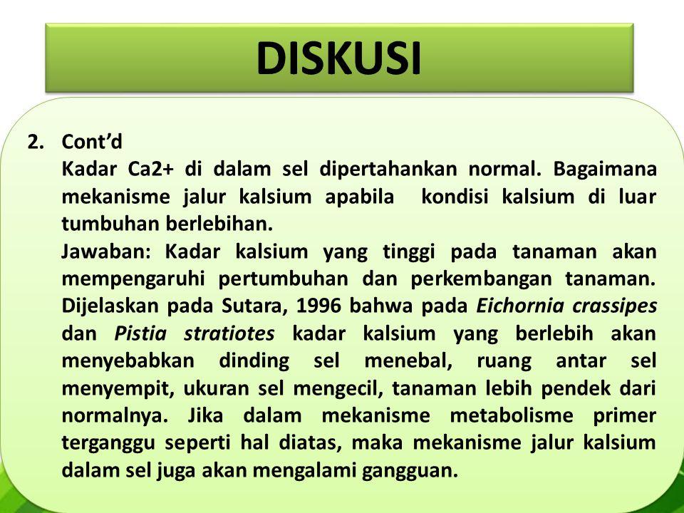 DISKUSI Cont'd.