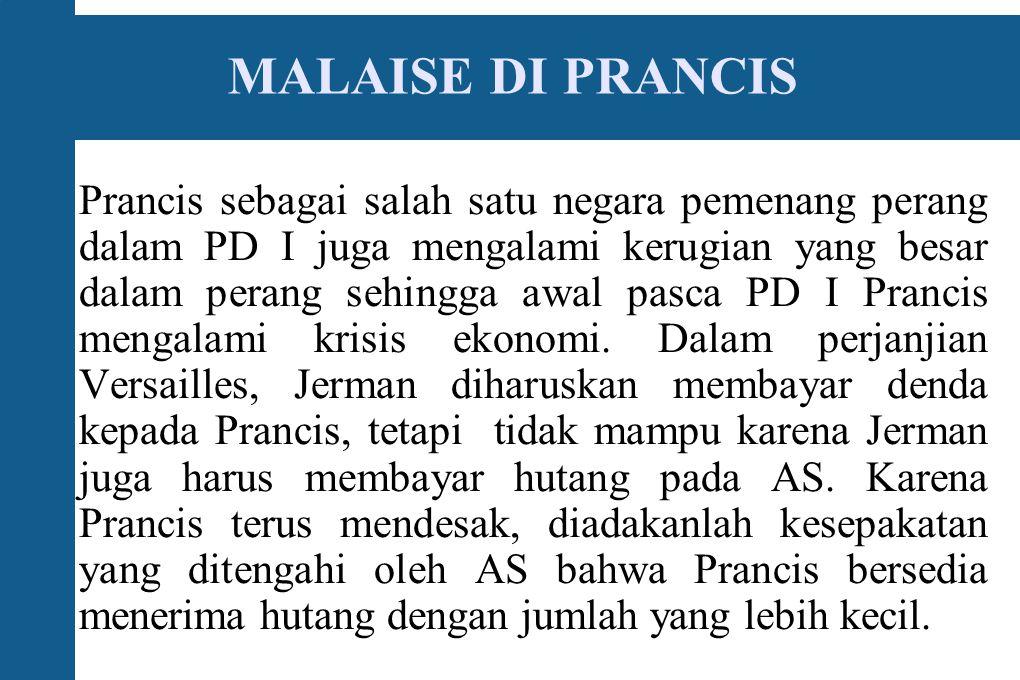 MALAISE DI PRANCIS