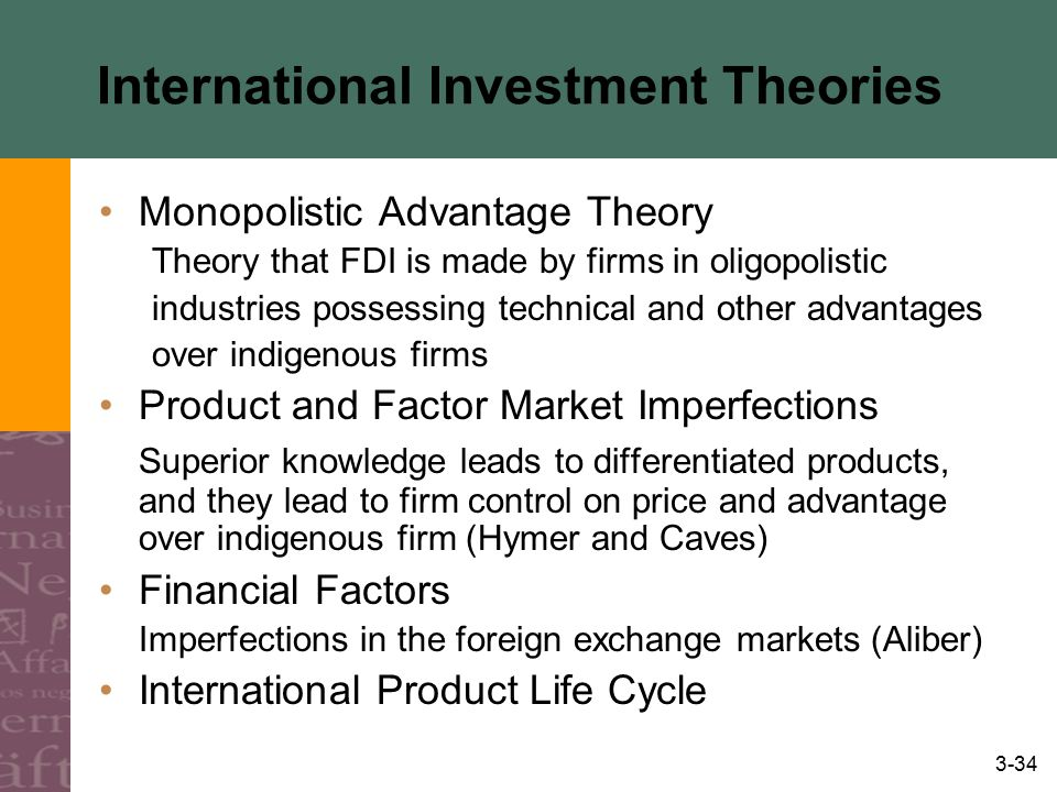 International Investment Theories