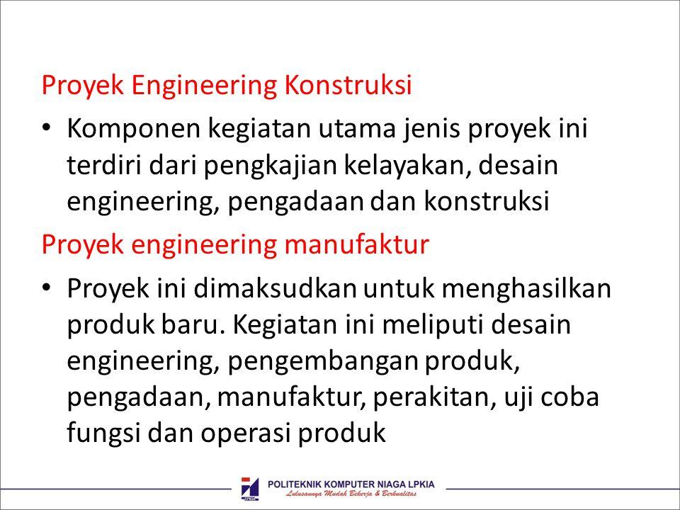 Proyek Engineering Konstruksi