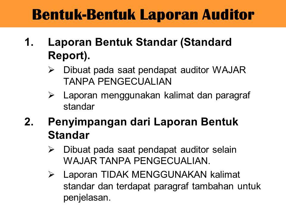 Laporan Audit Ppt Download