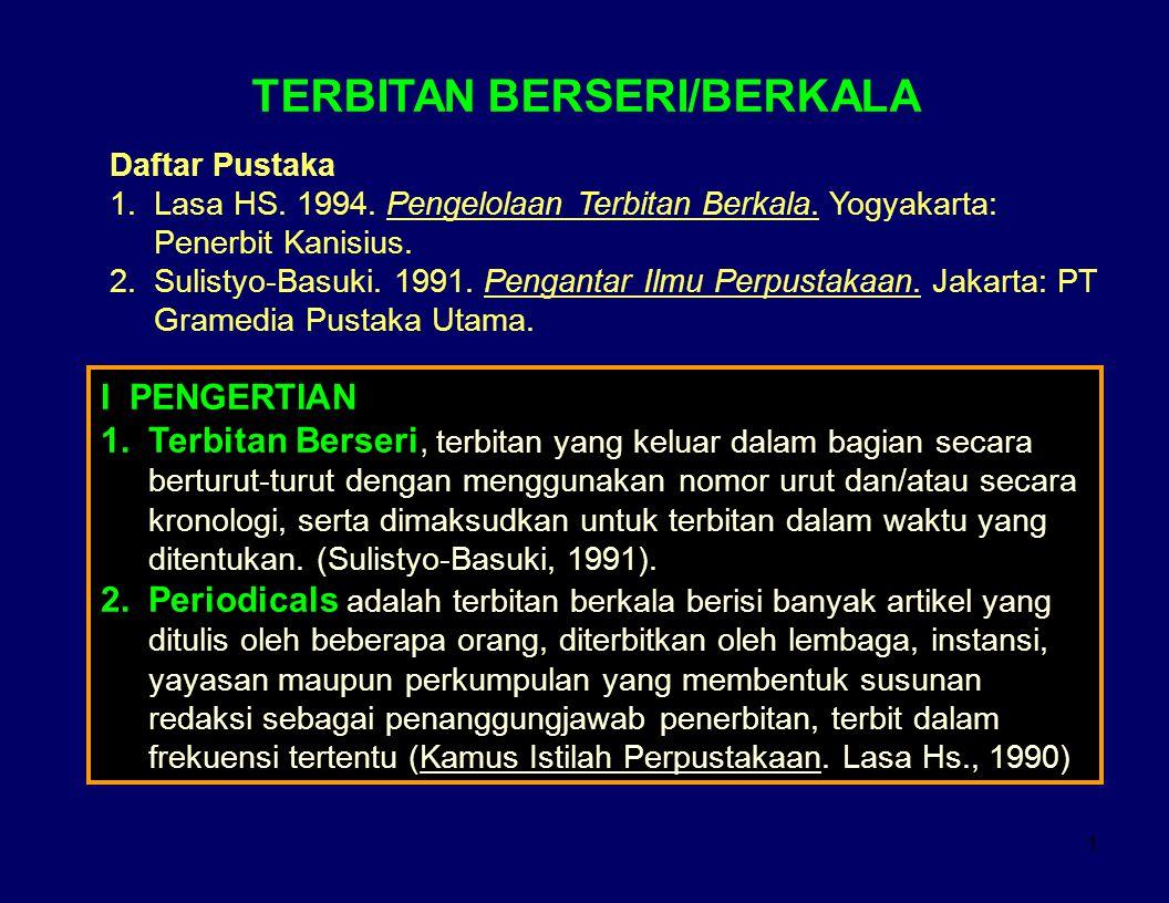 TERBITAN BERSERI/BERKALA