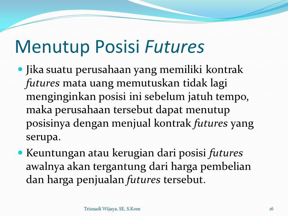 Menutup Posisi Futures