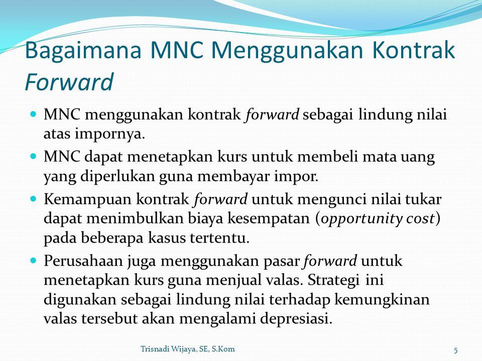 Bagaimana MNC Menggunakan Kontrak Forward