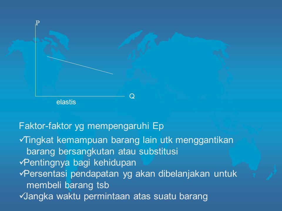 P Faktor-faktor yg mempengaruhi Ep
