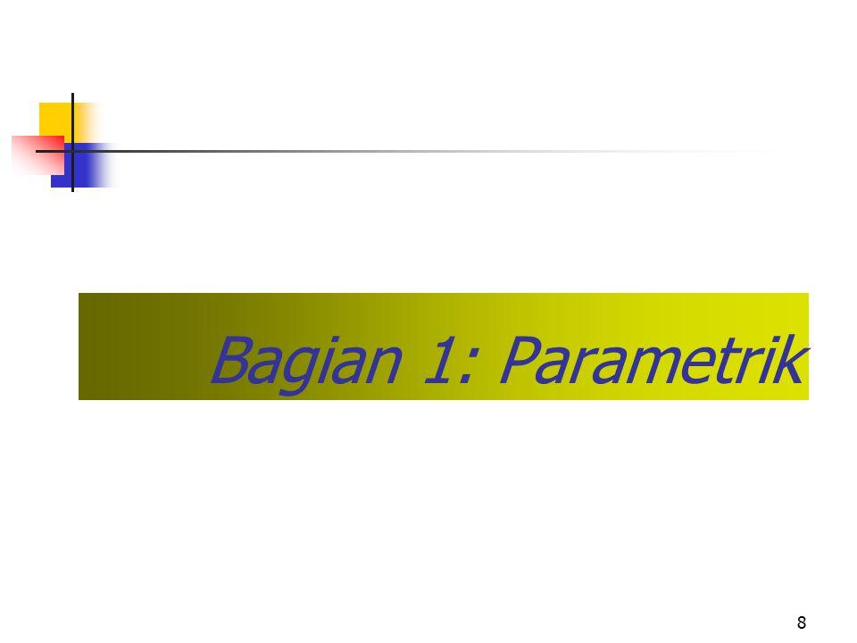 Bagian 1: Parametrik