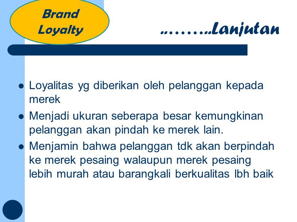 ..……..Lanjutan Brand Loyalty