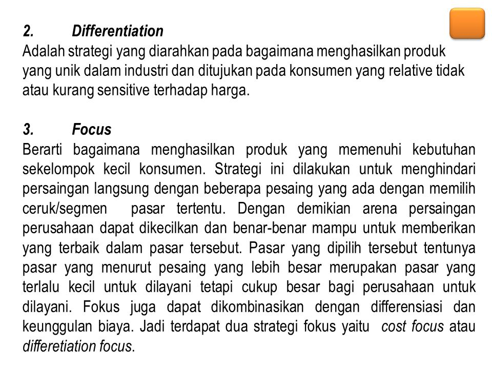 2. Differentiation