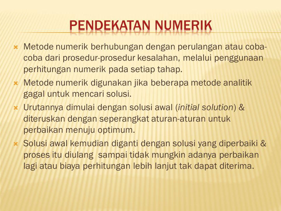 Pendekatan Numerik