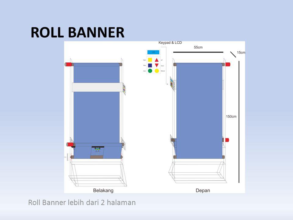 Roll Banner Roll Banner lebih dari 2 halaman