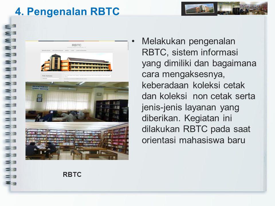 4. Pengenalan RBTC