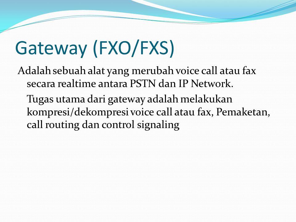 Gateway (FXO/FXS)