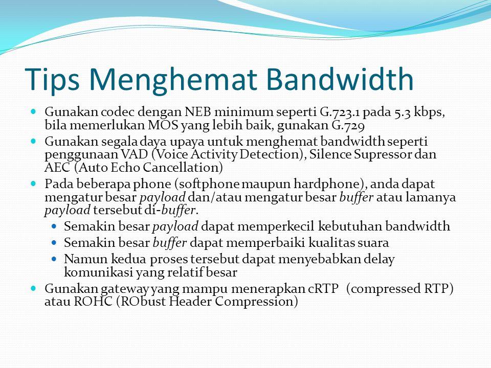 Tips Menghemat Bandwidth