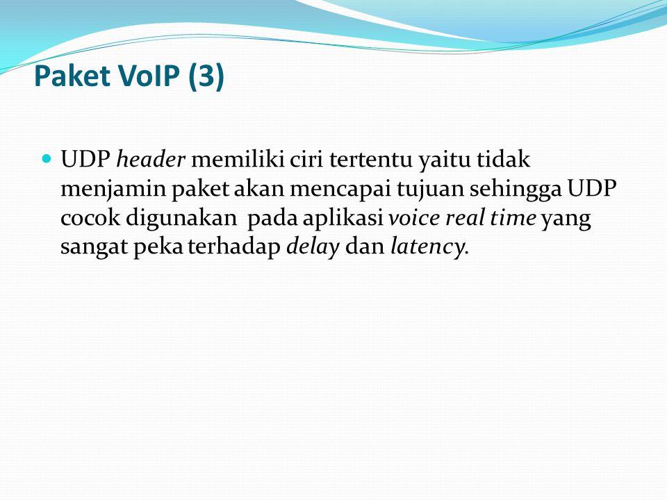 Paket VoIP (3)