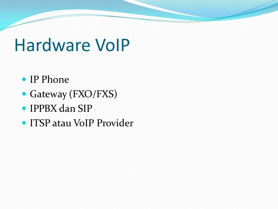 Hardware VoIP IP Phone Gateway (FXO/FXS) IPPBX dan SIP