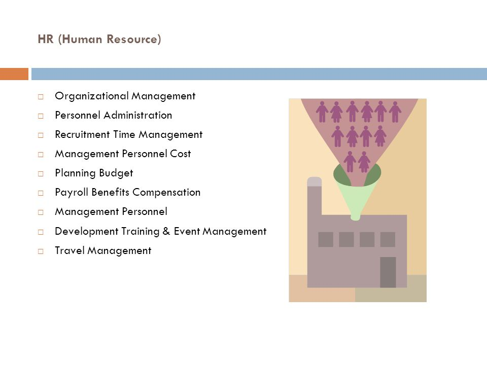 HR (Human Resource) Organizational Management Personnel Administration