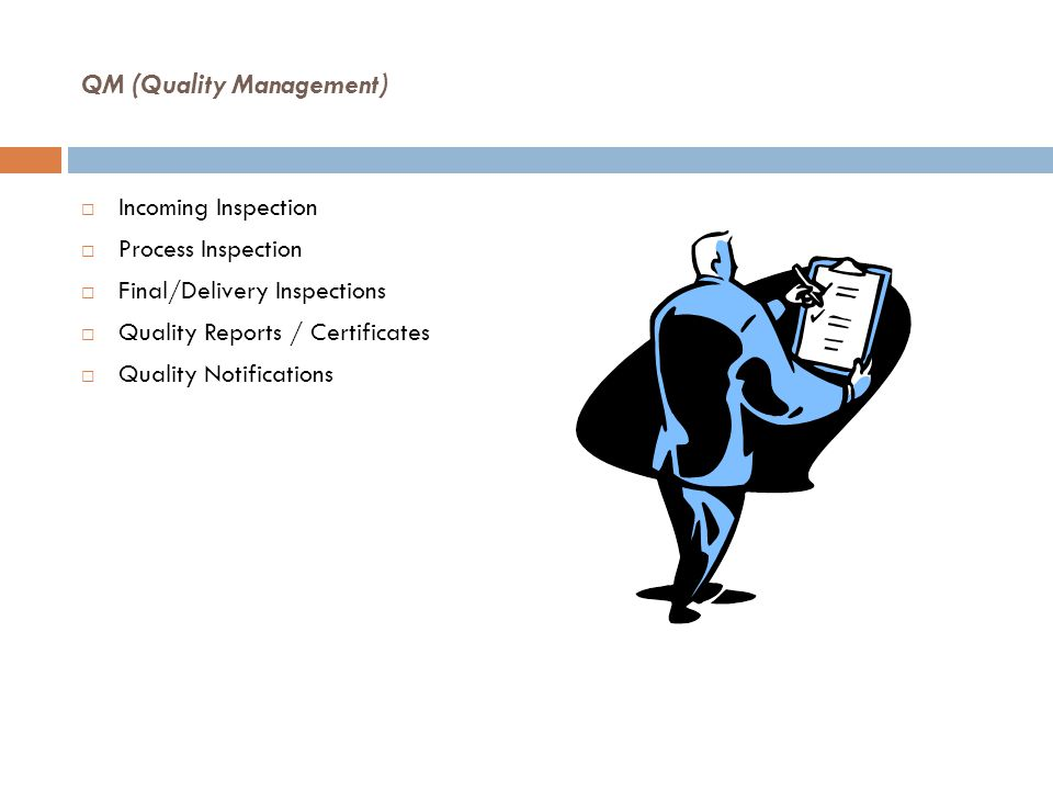 QM (Quality Management)