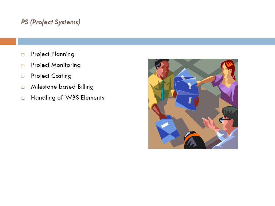 PS (Project Systems) Project Planning Project Monitoring
