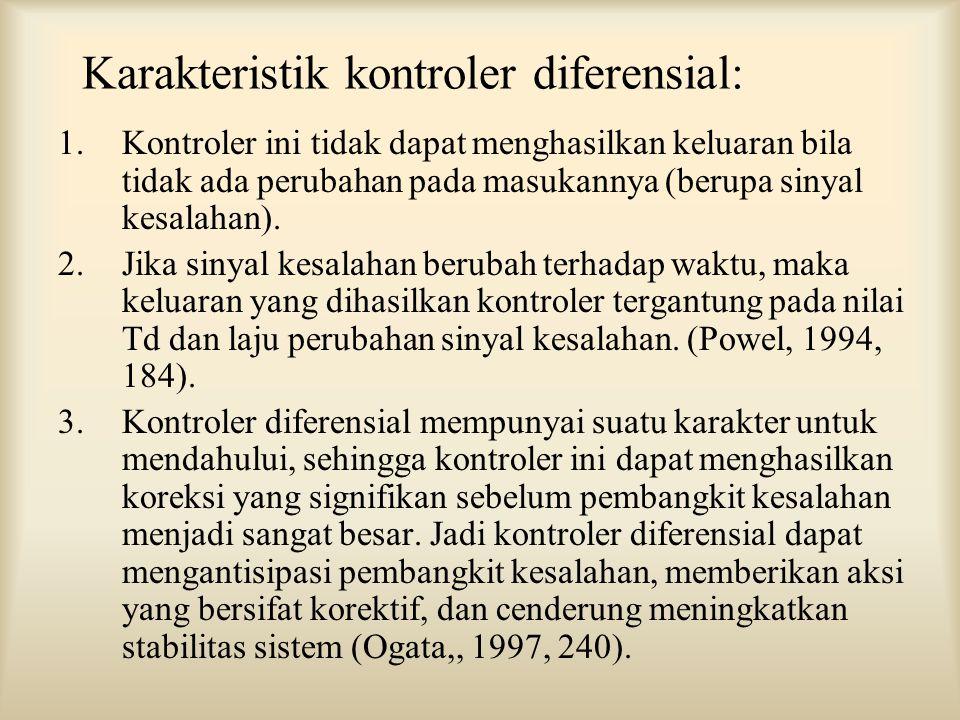 Karakteristik kontroler diferensial: