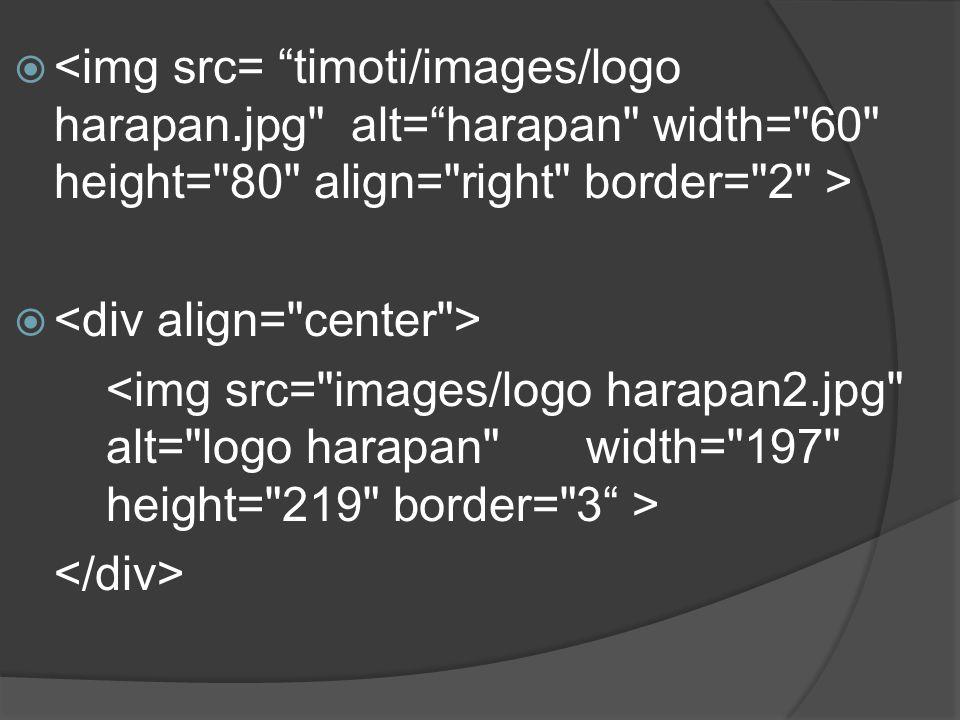 <img src= timoti/images/logo harapan