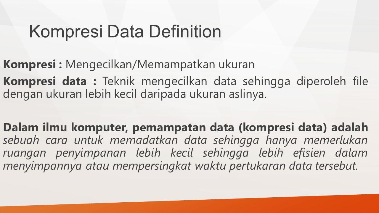 Kompresi Data Definition