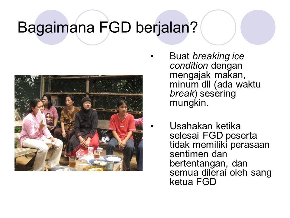 Bagaimana FGD berjalan