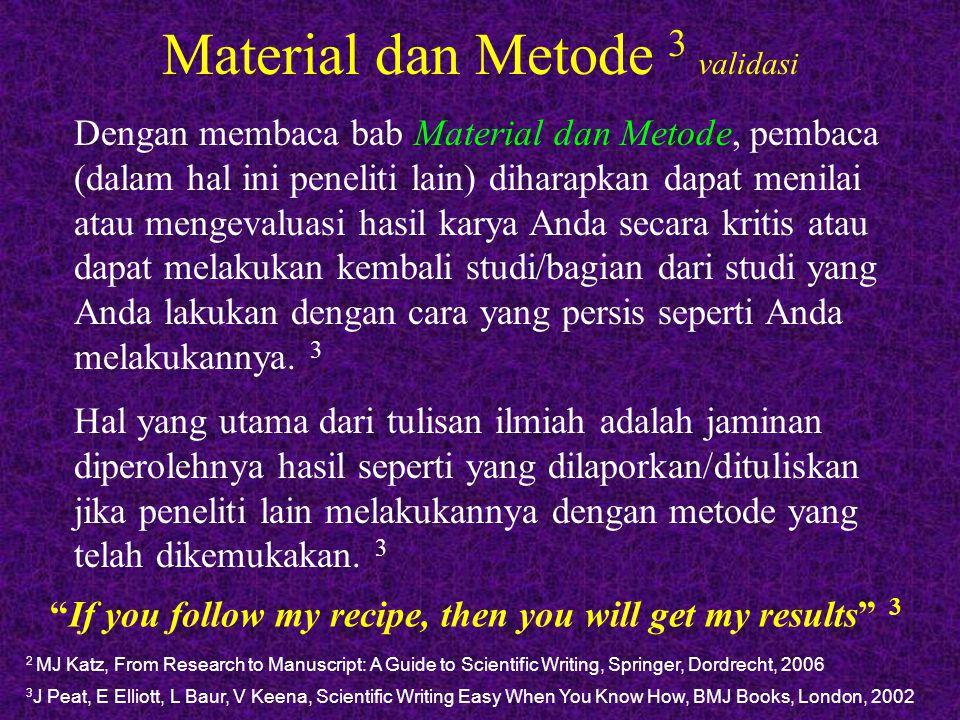 Material dan Metode 3 validasi