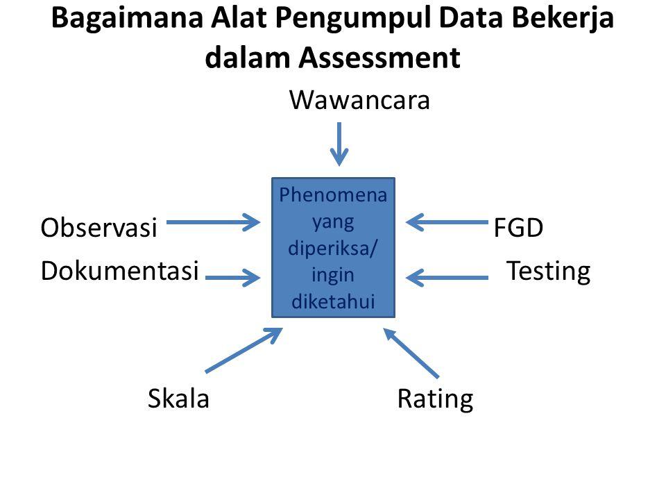 Bagaimana Alat Pengumpul Data Bekerja dalam Assessment