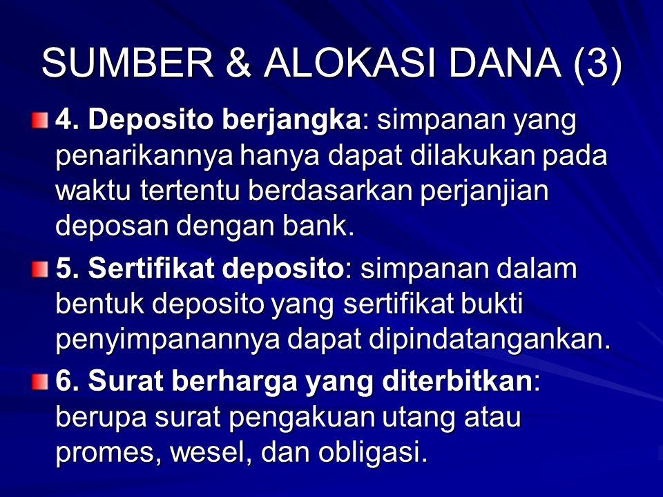 SUMBER & ALOKASI DANA (3)