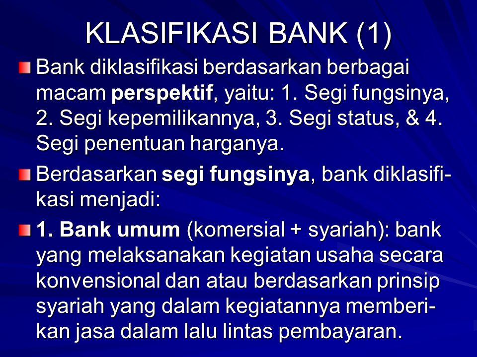 KLASIFIKASI BANK (1)