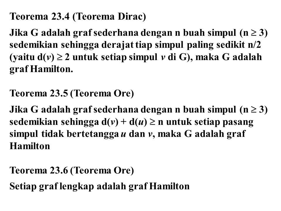 Teorema 23.4 (Teorema Dirac)