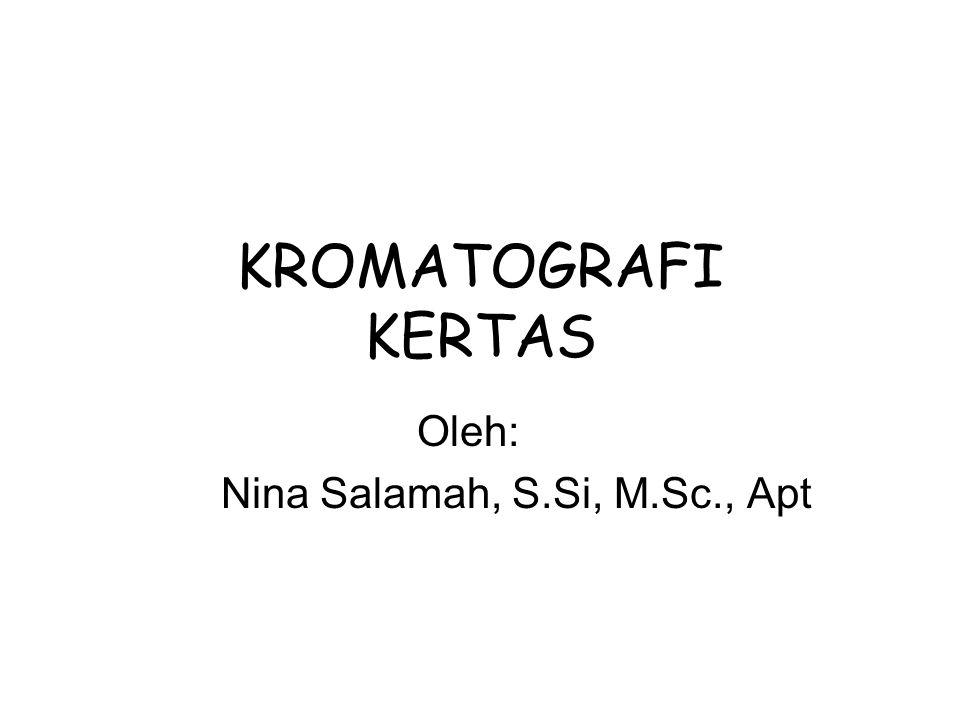 Oleh: Nina Salamah, S.Si, M.Sc., Apt