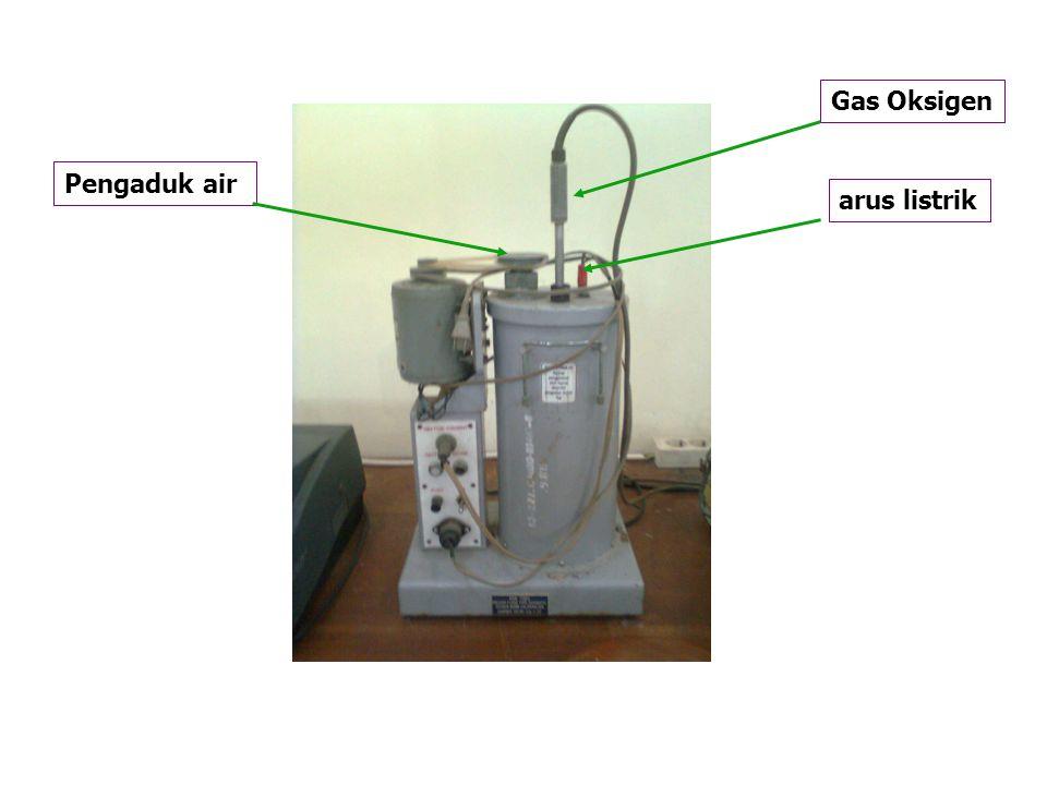Gas Oksigen Pengaduk air arus listrik