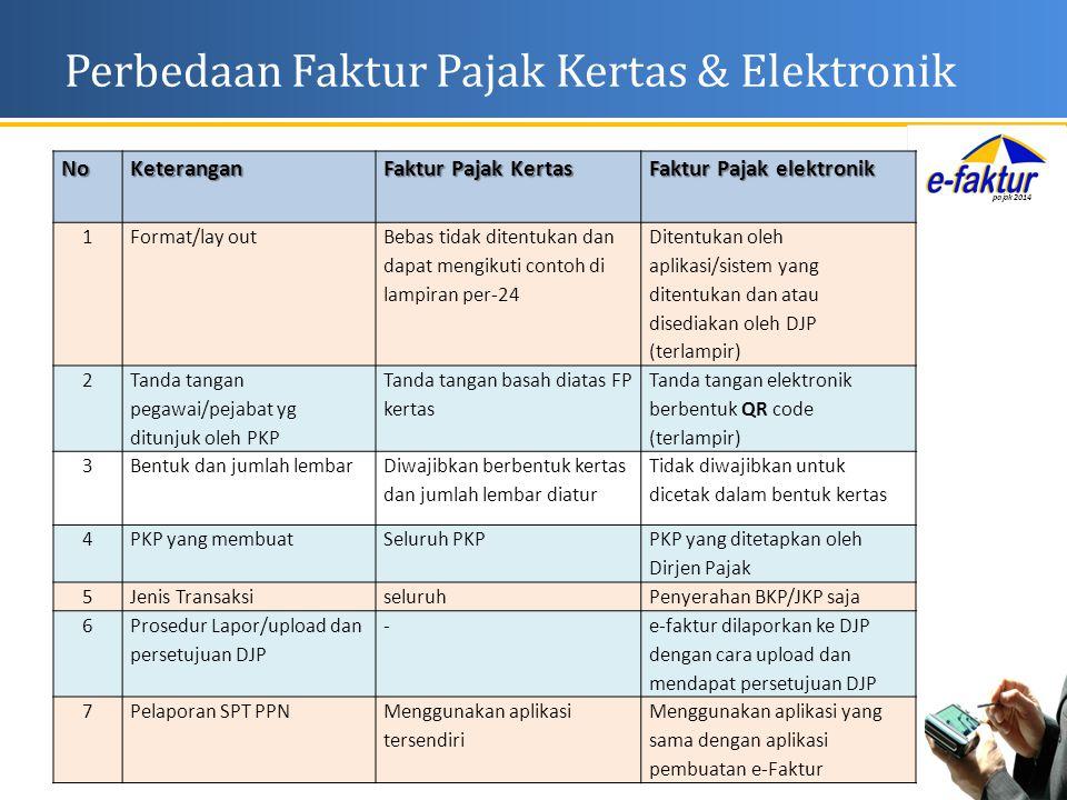 Perbedaan Faktur Pajak Kertas & Elektronik