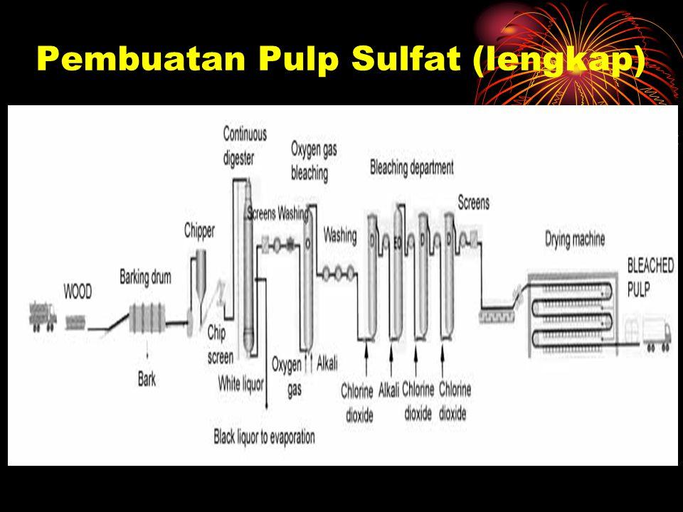 Pembuatan Pulp Sulfat (lengkap)