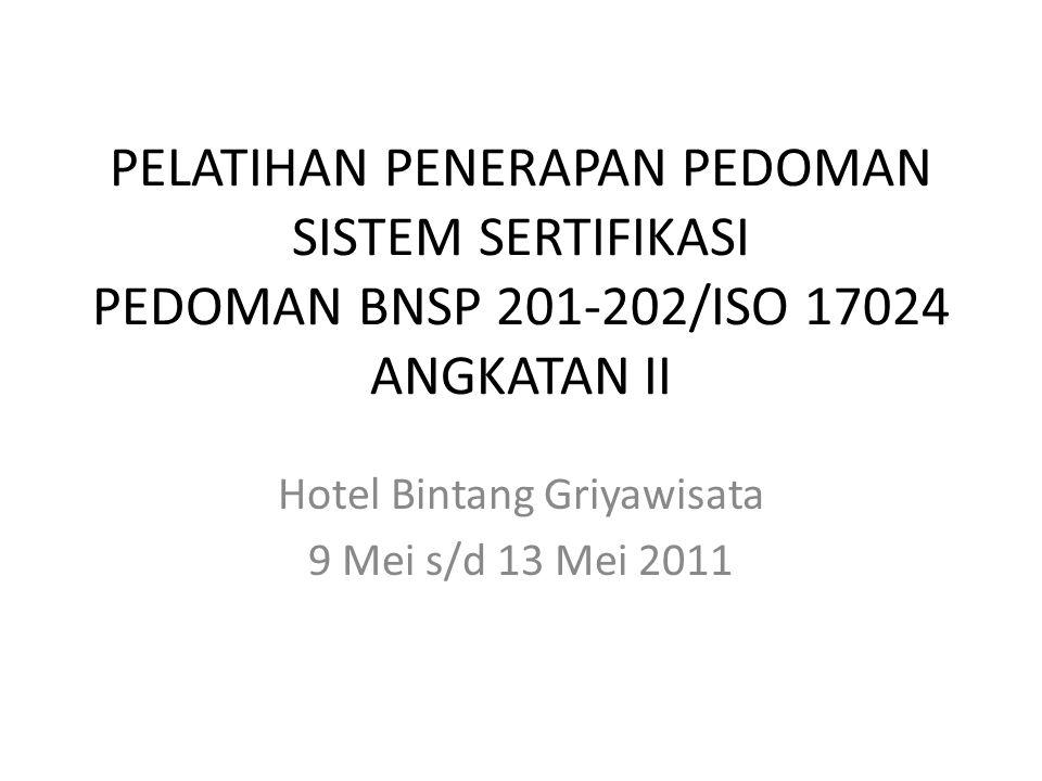 Hotel Bintang Griyawisata 9 Mei s/d 13 Mei 2011