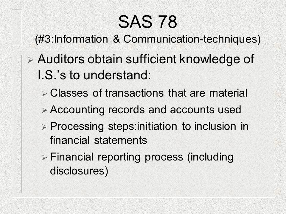 SAS 78 (#3:Information & Communication-techniques)