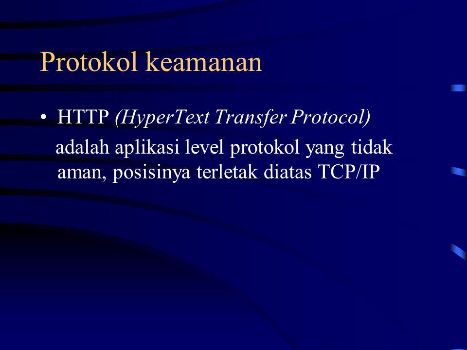 Protokol keamanan HTTP (HyperText Transfer Protocol)