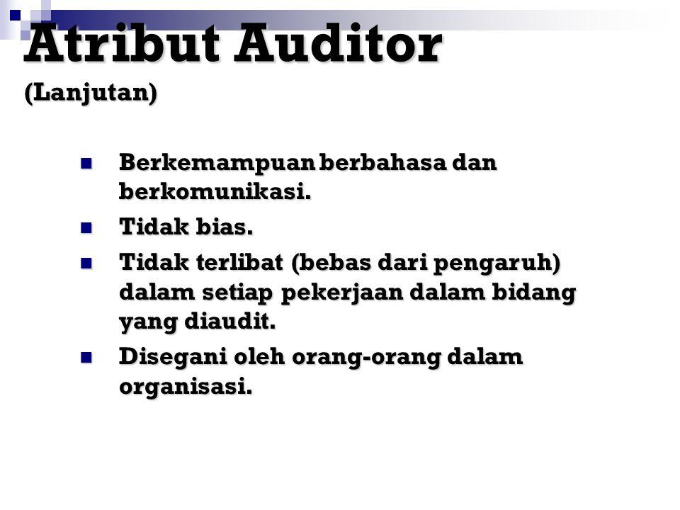 Atribut Auditor (Lanjutan)